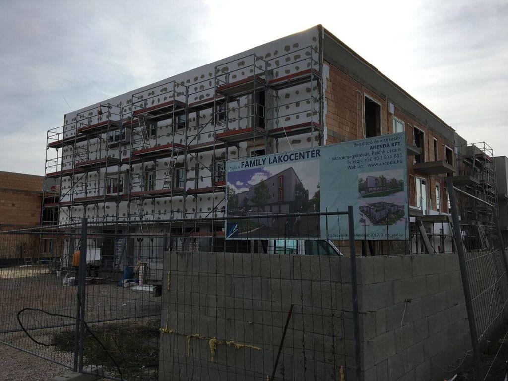 Mosonmagyaróvár, 68 lakásos lakásos társasház